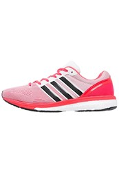 Adidas Performance Adizero Boston Boost 5 Cushioned Running Shoes White Core Black Shock Red
