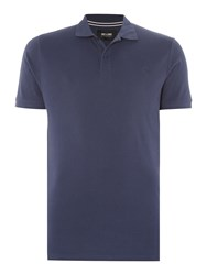 Only And Sons Short Sleeve Classic Polo Navy