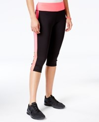 Material Girl Active Juniors' Crisscross Cropped Leggings Only At Macy's Flashmode
