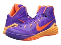 Nike Hyperdunk 2014 Hyper Grape Peach Cream Cave Purple Hyper Crimson Men's Basketball Shoes
