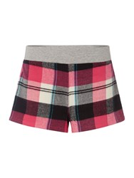 Therapy Rib Waist Check Shorts Navy