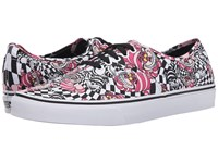 Vans Disney Authentic Disney Cheshire Cat Black Skate Shoes Multi