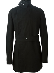 Rick Owens Belted Trench Coat