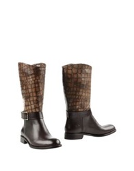 Martin Clay Boots Dark Brown