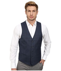 Moods Of Norway Stein Victor Suit Vest Mid Blue Men's Vest