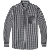 Fred Perry Reissues Gingham Shirt Black