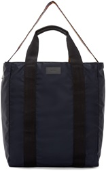 Paul Smith Navy Nylon Tote