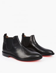 Paul Smith Black Red Soled Chelsea Boots
