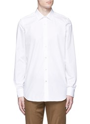 Paul Smith 'Soho' Contrast Cuff Lining Shirt White