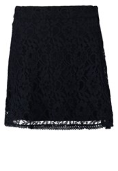 Only Onllace Mini Skirt Night Sky Dark Blue