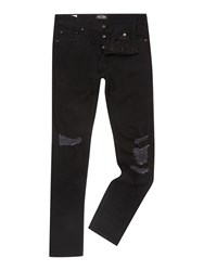 Jack And Jones Skinny Fit Low Rise Jeans Black