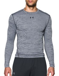 Under Armour Ua Coldgear Twist Compression Crew White Black