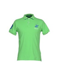Beverly Hills Polo Club Polo Shirts Light Green