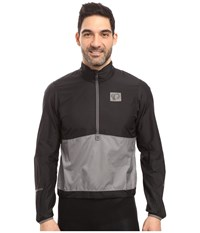 Pearl Izumi Select Barrier Pullover Black Smoked Men's Clothing