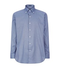 Peter Millar Coastal Gingham Shirt Male Blue