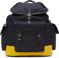 Dsquared Blue Denim Backpack