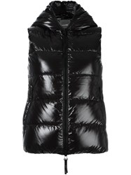 Duvetica Quilted Sleeveless Jacket Black
