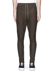 Studio Seven 'Military Easy' Drawstring Waist Pants Green