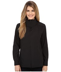 Royal Robbins Expedition Stretch Sun Cover Top Jet Black Women's Coat