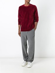 Our Legacy Crew Neck Sweater Red