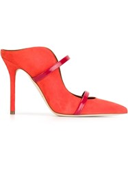 Malone Souliers 'Maureen' Mules Red