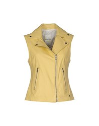 Ottod'ame Coats And Jackets Jackets Women Yellow
