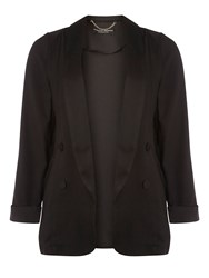 Dorothy Perkins Double Breasted Blazer Black