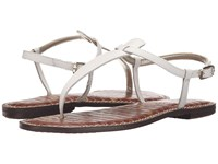 Sam Edelman Gigi Bright White Vaquero Saddle Leather Women's Sandals