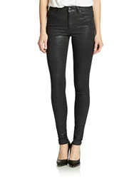 Joe's Jeans High Rise Skinny Jeans Jet Sparkle