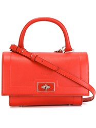 Givenchy Small 'Shark' Tote Red