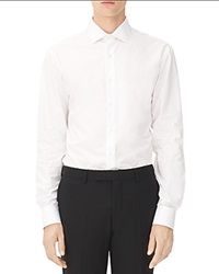 Sandro Business Slim Fit Button Down Shirt White