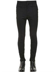 Haider Ackermann Stretch Wool Gabardine Pants
