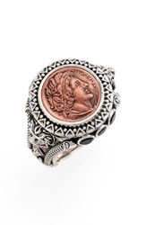 Konstantino Women's 'Aeolus Ptolemy' Coin Ring