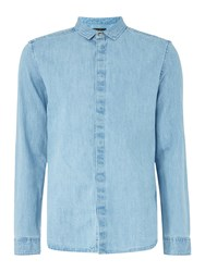 Label Lab Desmond Light Denim Shirt Light Blue