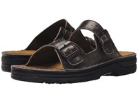 Naot Footwear Mikael Vintage Gray Leather Men's Sandals