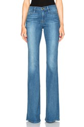 Frame Denim Karlie Forever Flare In Blue