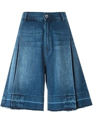 Diesel Denim Bermuda Shorts Blue