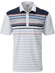 Ping Shaw Polo White