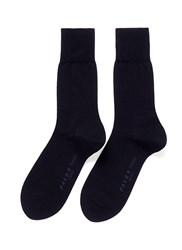Falke Tiago Split Sole Crew Socks Blue