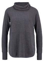 Opus Pia Jumper Raven Grey Anthracite