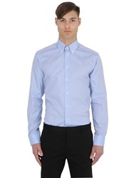 Eton Slim Fit Cotton Oxford Button Down Shirt