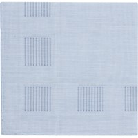 Simonnot Godard Men's Stripe Block Border Handkerchief No Color