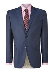 Corsivo Zefiro Shadow Stripe Suit Jacket Navy