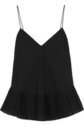 J.Crew Melinda Cotton Voile And Organza Camisole