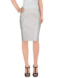 Emporio Armani Skirts Knee Length Skirts Women White