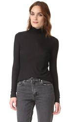 Blk Dnm Turtleneck Black