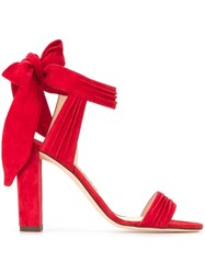 Jimmy Choo 'Kora 100' Sandals Red