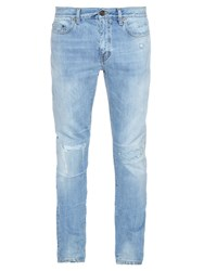 Saint Laurent Low Rise Slim Fit Jeans