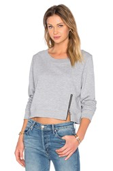 Cheap Monday Exact Zip Sweatshirt Gray