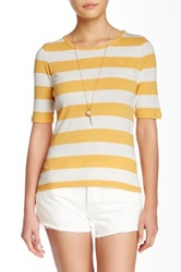 Gant By Michael Bastian Block Striped Tee Multi